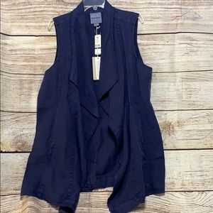 Tommy Bahama Two Palms Long Linen Vest